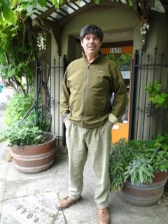 Mark Lakeman, outside his office.