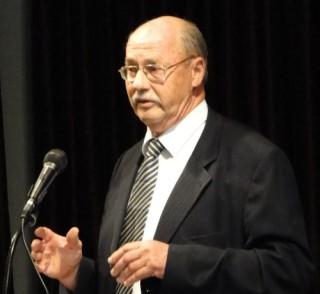 Mayor Sven von Ungern-Sternberg.