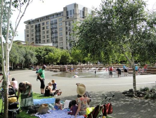 View of Jamison Square