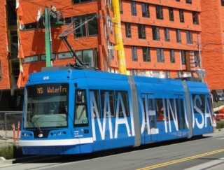 As you might recall from an earlier post, Portland's streetcars are built in the Portland metro area.
