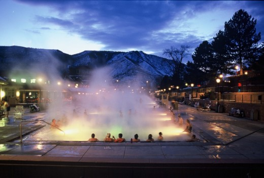 Glenwood Hot Springs Pool. Photo by Kjell Mitchell.