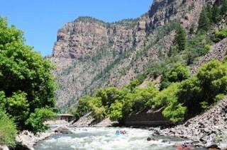Glenwood Canyon. photo Courtesy Glenwood Springs Chamber.
