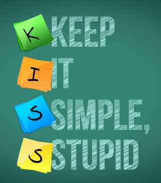 graphic of Keep It Simple, Stupid