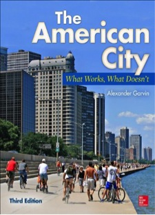 cover image of book, The American City
