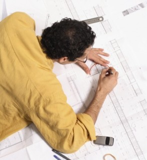 individual drafting plans for new development