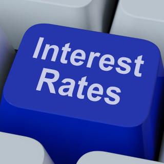 Interest rates graphic