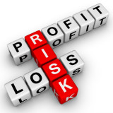 risk profit loss word on crossword