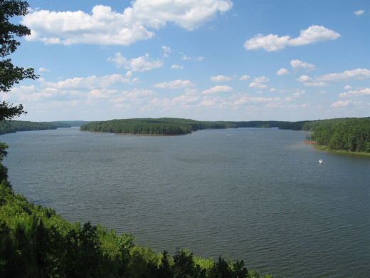 photo of Jordan Lake by Todd Martin; posted under Flickr Creative Commons license.