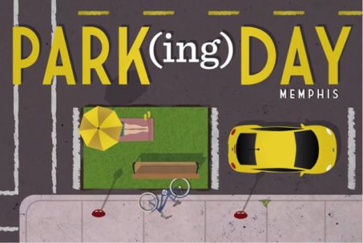 PARK(ing) Day poster