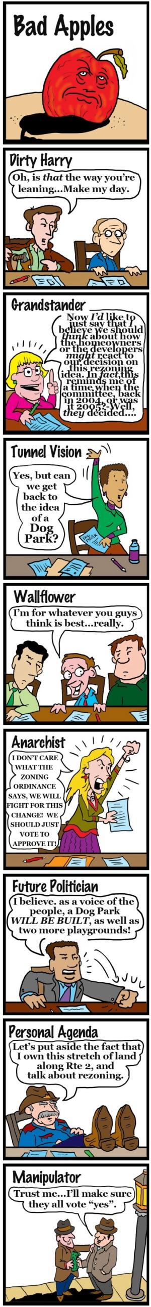 Bad Apples comic strip by Marc Hughes.