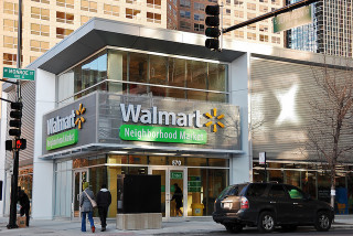 Walmart Neighborhood Market in Chicago's Loop. photo by Eric Allix Rogers, Flickr Creative Commons license.