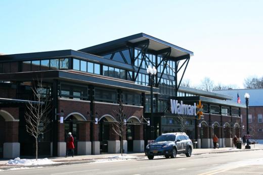 View of the new Walmart on Georgia Avenue in Washington, DC. Photo by Edward McMahon.