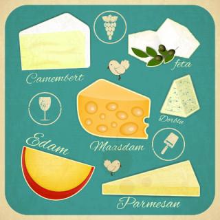 cheese illustrations