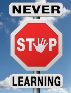 Illustration: Never Stop Learning