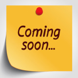 Coming Soon post it note