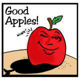 Good Apples illustration by Marc Hughes for PlannersWeb.com