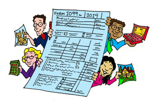 1099er illustration by Marc Hughes for PlannersWeb