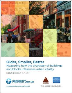 Cover of National Trust's Older, Smaller, Better report