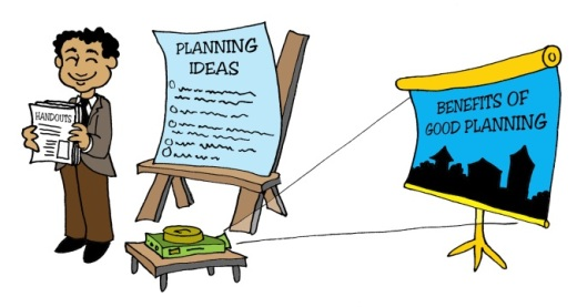 Illustration by Marc Hughes for Planners Web - planning ideas and vision for the future.